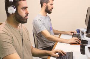 Thiago Bomfim e Vitor - Designers