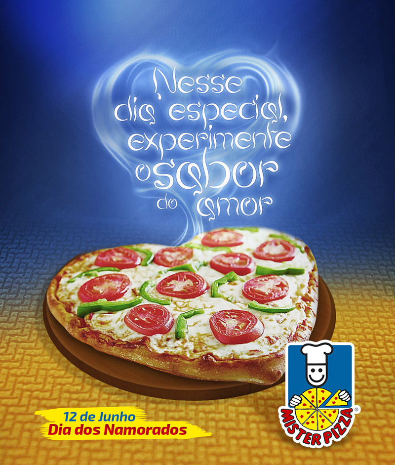 Dia dos Namorados - Mister Pizza