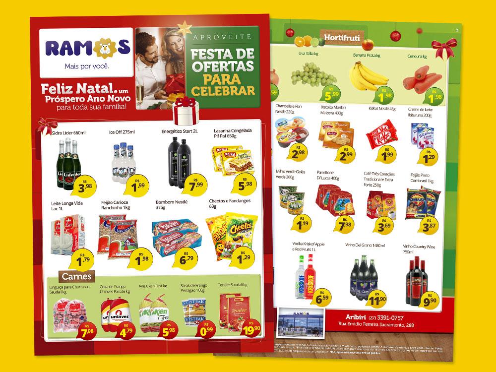 Encarte-Natal-Supermercados Ramos